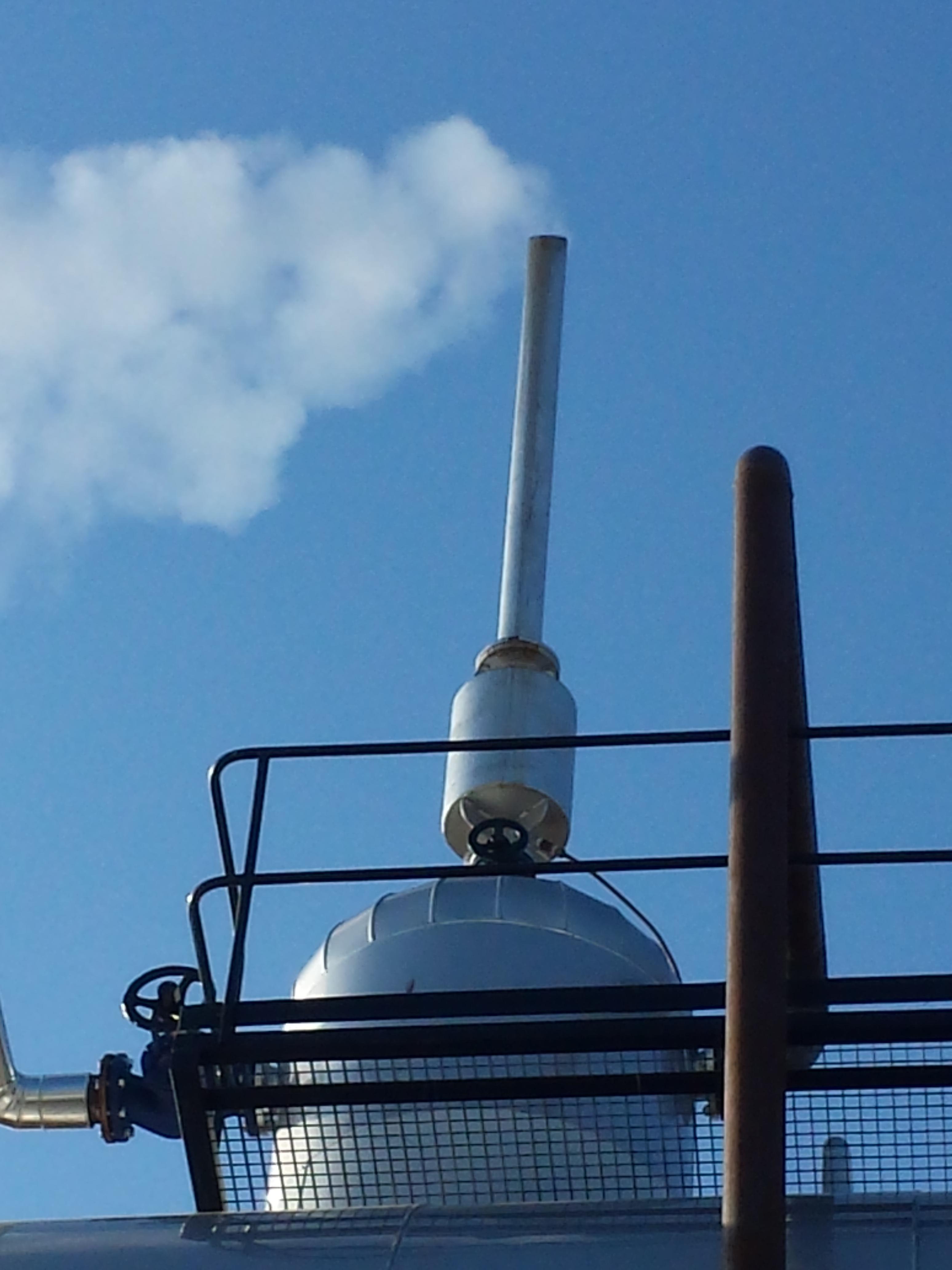 Calderas de vapor desgasificador DGV Calderería López Hermanos, S.A. Valencia