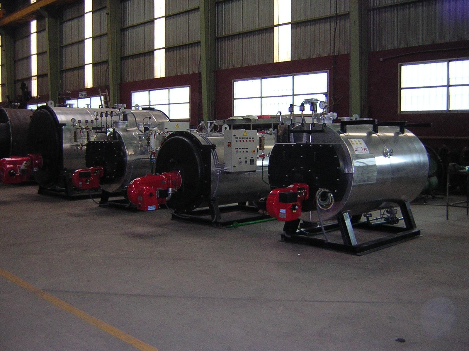 4 calderas de vapor pirotubular GVL-H Calderería López Hermanos, S.A. Valencia