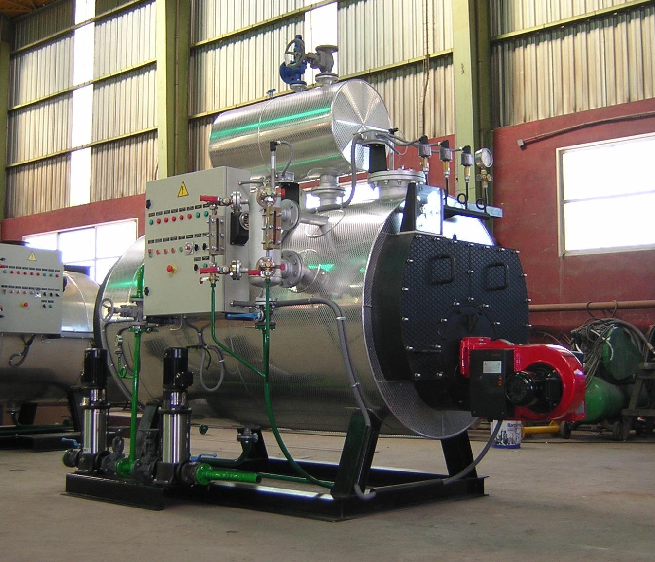 caldera de vapor pirotubular GVL-H150 Calderería López Hermanos, S.A. Valencia