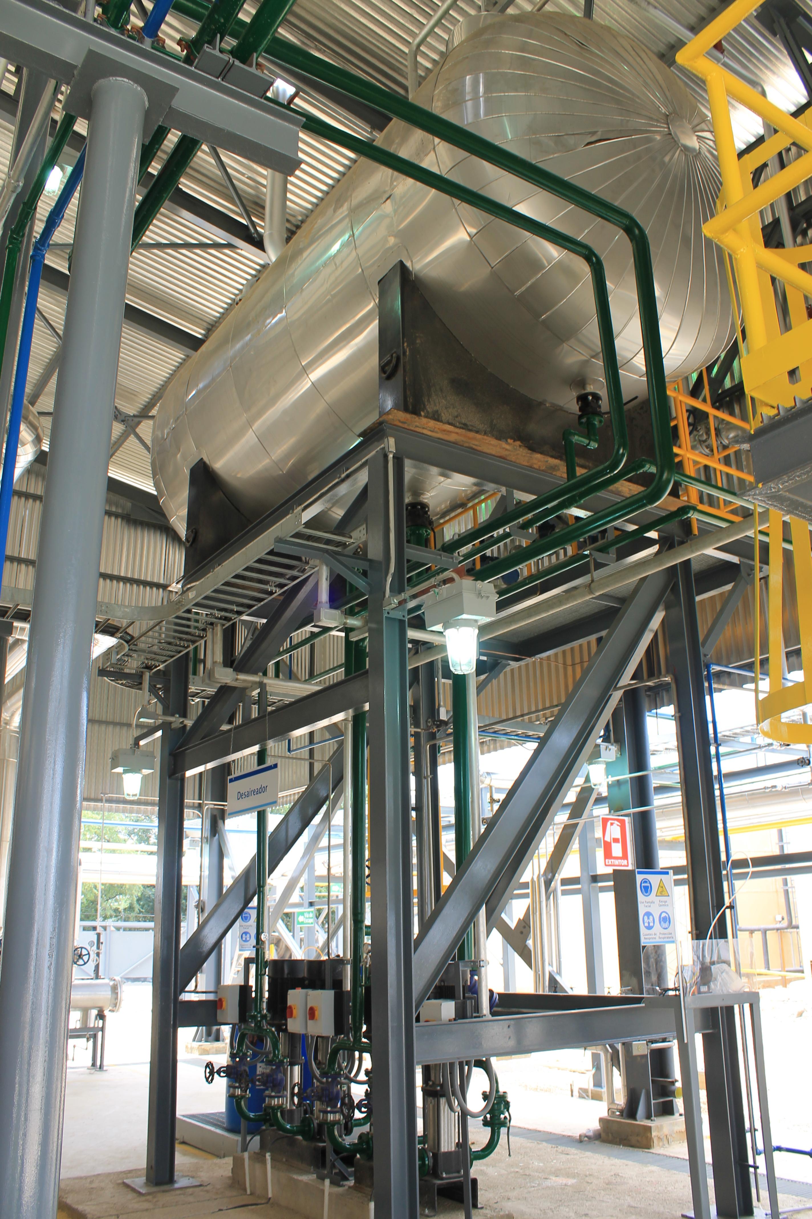 Calderas de vapor desgasificador DGV 5 Calderería López Hermanos, S.A. Valencia