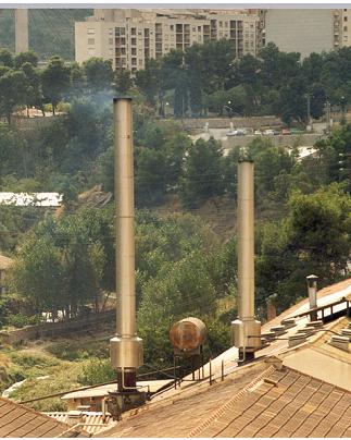 Lavadores de humos LGD Calderas de Vapor Calderería López Hermanos, S.A. Valencia